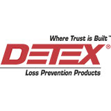 Detex Alarmed Rim Exit Device With Battery