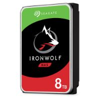 8TB IRONWOLF NETWORK STORAGE NAS HARD DRIVE