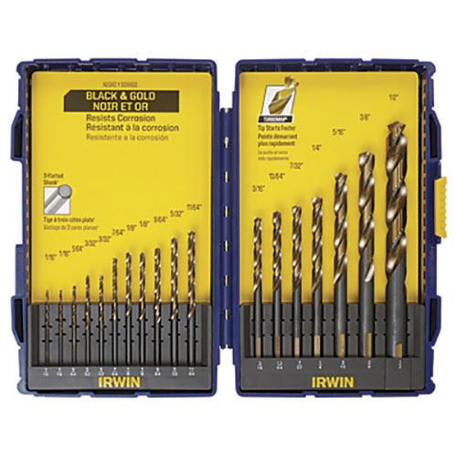 IRWIN TURBOMAX 3018024SM 18-pc Drill Bit Set