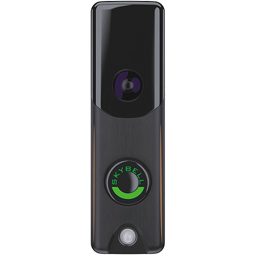 Alarm.Com Slim Line Doorbell Camera (Bronze)