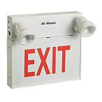 Led Exit Combo - Steel