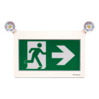 LED RUNNING MAN SIGN WITH 2X LED