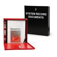 SAE System Record Documents Cabinet RED SSU00690