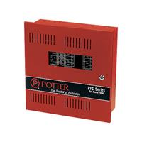 Potter Electric Signal PFC-5004E Microprocessor-Based 4 Zone Expandable Fire Alarm Control Panel