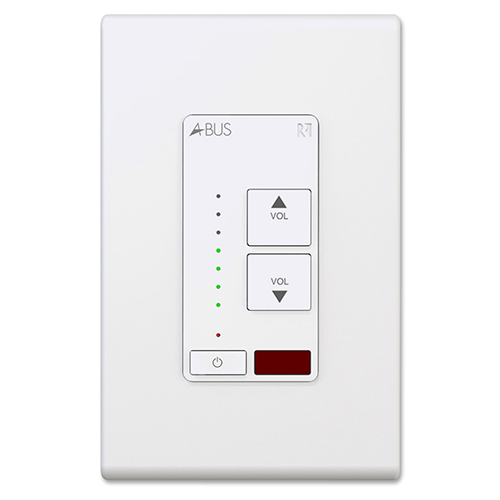 A-K4 Amplified Keypad, White