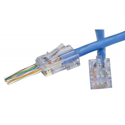 Platinum Tools 202010J EZ-RJ45 Cat 6+ Network Connector