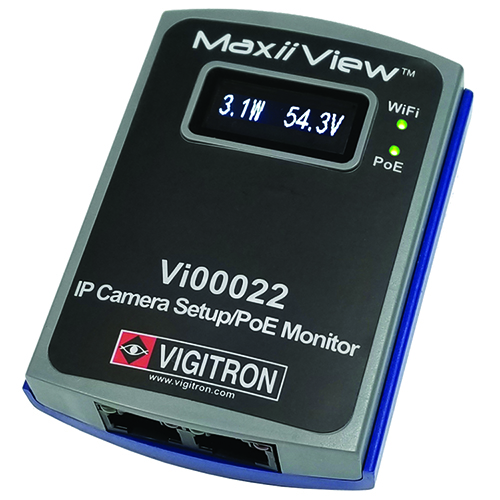MAXIIVIEW WIFI CAM SET UP TOOL W/POE MTR