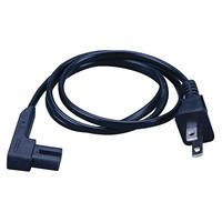 Power Cord 2c/18awg Ra 12ft