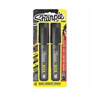 Sharpie Pro Chisel 2 Count Carded Black