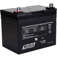 UltraTech IM-12350NB 12 Volt 5.0 Ah Sealed Lead Acid Battery - F1 Terminal